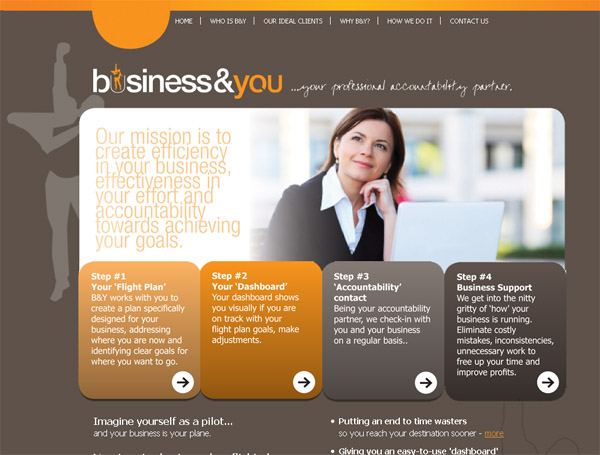 business and you